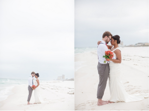 Pensacola Beach House Wedding