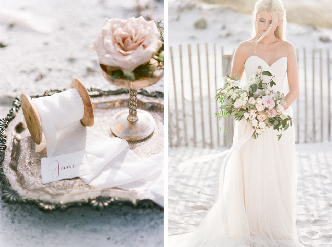 Grayton Beach Wedding Styled Shoot