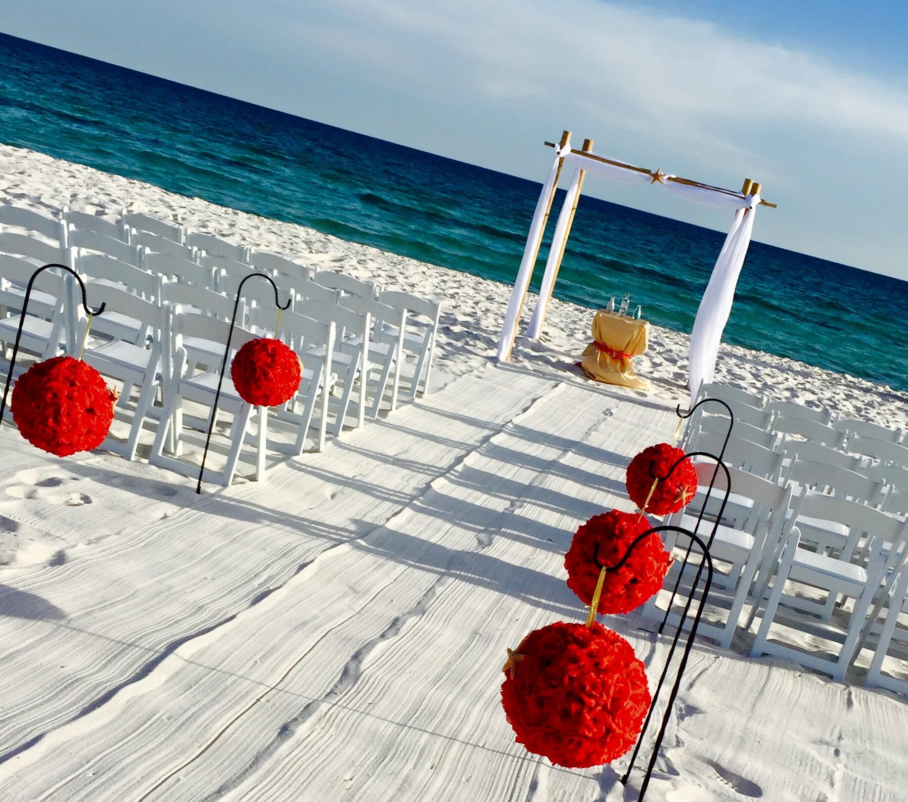 Hilton Pensacola Beach Wedding 2 Silver Shade Studios